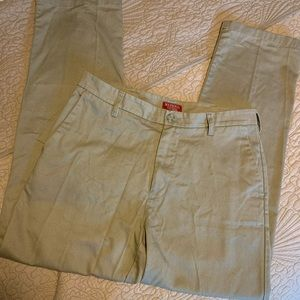 MERONA Men's Ultimate Dark Khaki Pants 31x30